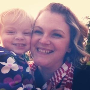Haddie and mama at park