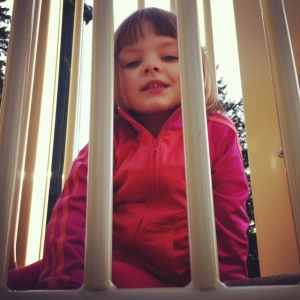 Stella at park